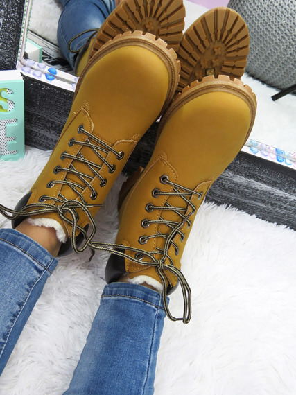 ARMY Combat Ankle Boots Casual STREET STYLE