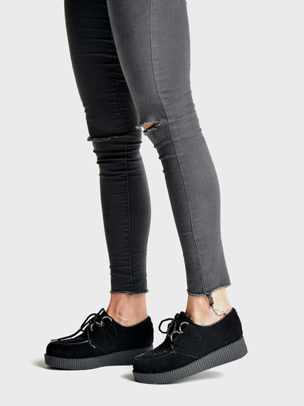 Black Creepers Punk Rock