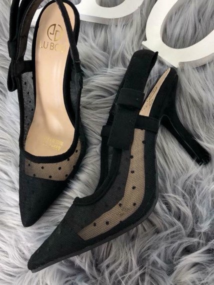Lu Boo High Heels Slingback Unique