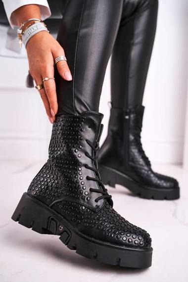 Women's Boots Grunge Black Don't Stop