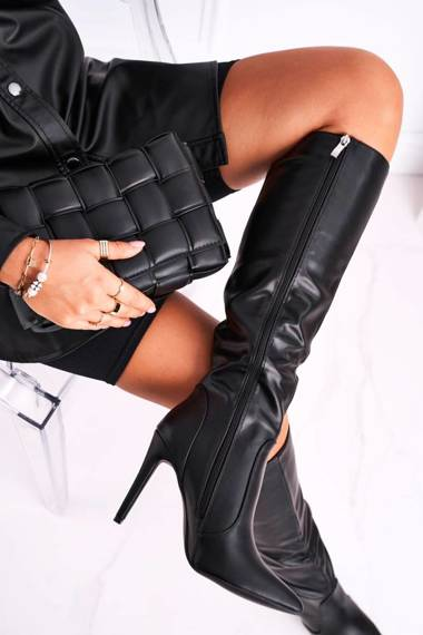 Women's High Boots Black See Me!
