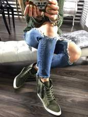 Lu Boo Olive Sneakers Emilly