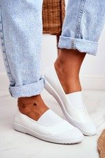 Sneakers On Slip On Sneakers White Justy